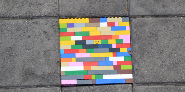 Urban hacks: Lego Tile
